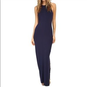 Tart high neck maxi dress